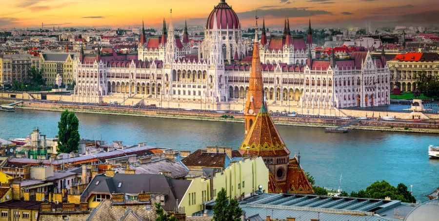 Visit Budapest on a river cruise