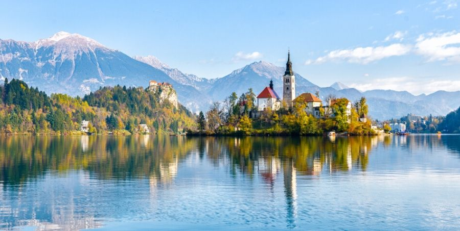 Visit Lake Bled in Slovenia
